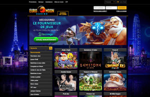 Euromoon Casino Screenshot